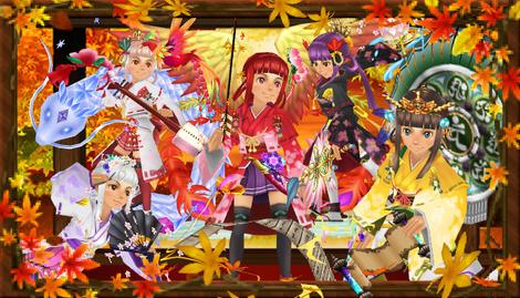 秋爛漫 秋の巫女まつり