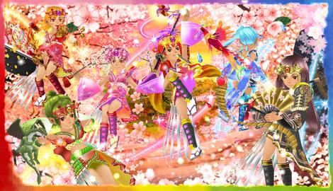 刃桜六人娘