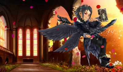 堕天使ルシフェル(ぼっちゃん)
