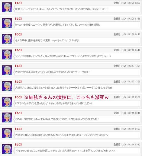 ソチ五輪実況その2(男子SP&フリー+スケ連)
