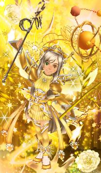 るうきちアバ新システム 黄金聖衣 乙女座のシャカ(色調補正あり)