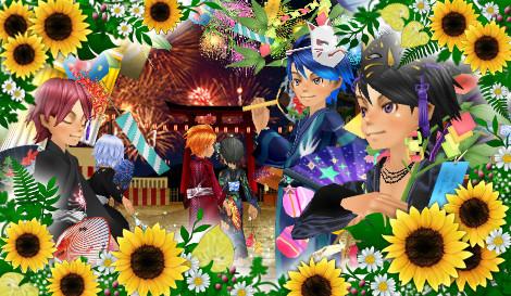 毎月結弦! 8月 夏祭り 仙台七夕