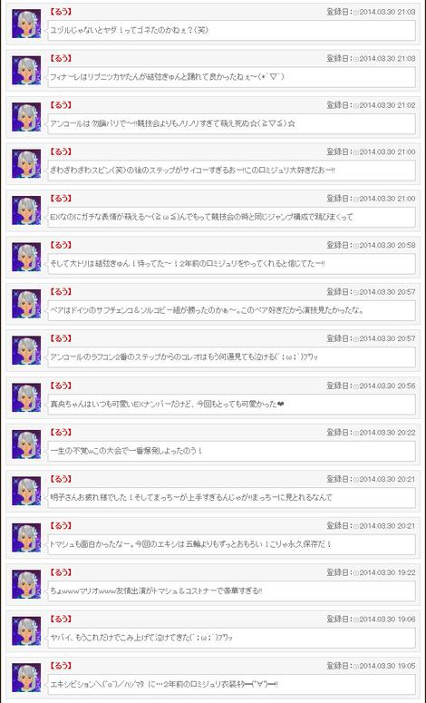 世界フィギュア実況その3(エキシビション)