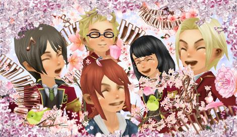 るうきちアバ新システム 桜の音フリーサイズ
