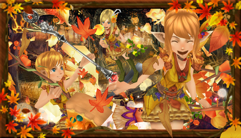 下僕のかのん 秋の森の妖精たち