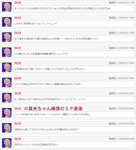 ソチ五輪実況その1(女子SP&フリー+総集編)
