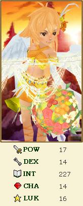 隠し子の姫ステータス2011年6月末