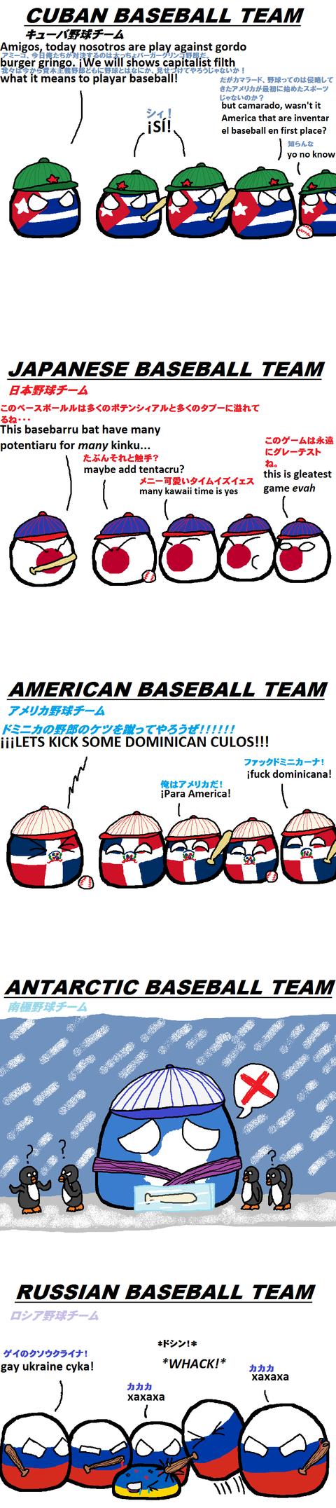 Baseball Teams Around the World