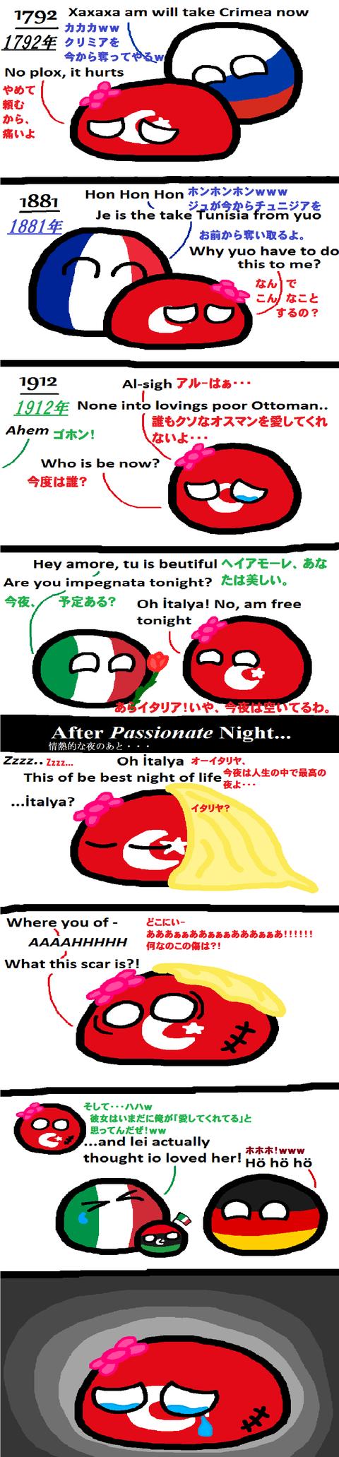 Ottoman Empire's Bad Luck in Love