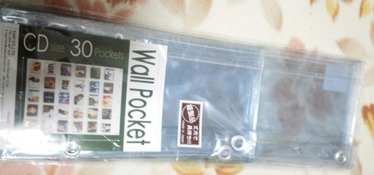ウォールポケット (CDサイズ30ポケット)