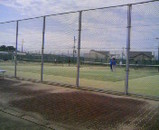陶器テニスコート