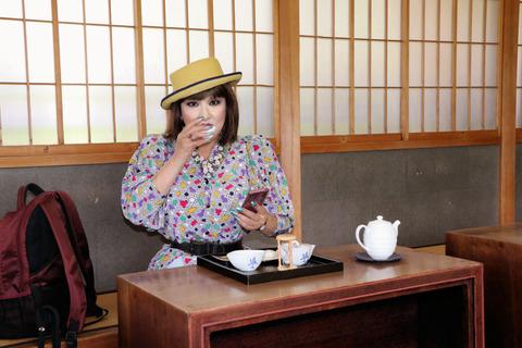 静岡6/紅葉山庭園でのお茶