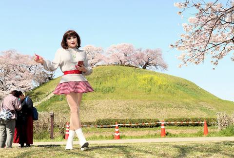 埼玉さきたま古墳公園03/桜