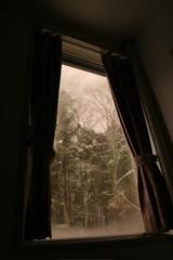 窓からの景色(夜)
