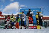 スノーボードクロス男子表彰式