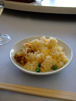 蒼浪閣09(カニ炒飯)