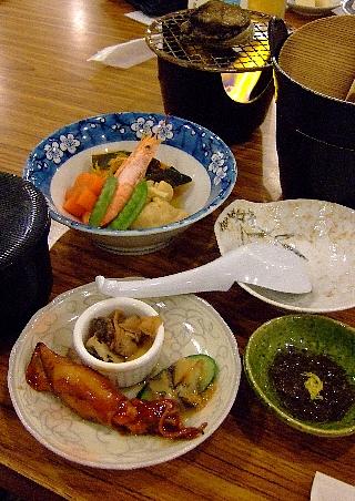 奥尻緑館夕食1日目01