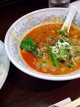 豊洲らーめんの担々つけ麺03