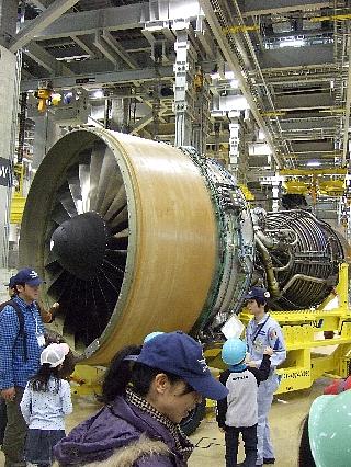 ANAエンジン整備工場見学14