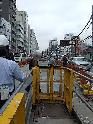 13号地下鉄工事現場見学11