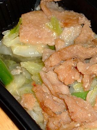 スマートデリ04豚肉しょうが焼セット05