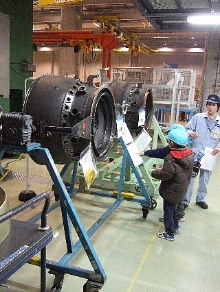 ANAエンジン整備工場見学03