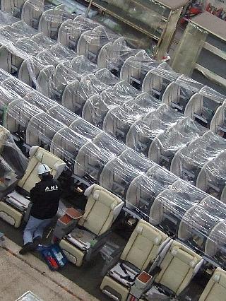 ANA機体整備工場見学06