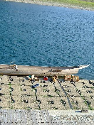 長良川と鵜飼舟02