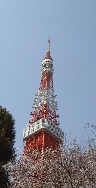 東京タワー(見上げ昼)