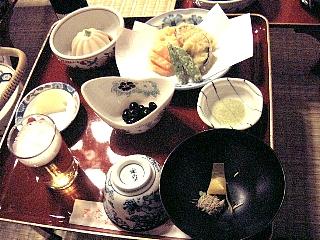 精進料理(夜)1の膳