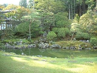 天徳院奥庭の鶴亀