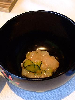 四季亭08(小海老麹和小鉢)