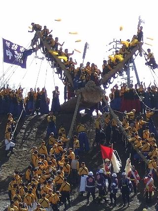御柱祭り11