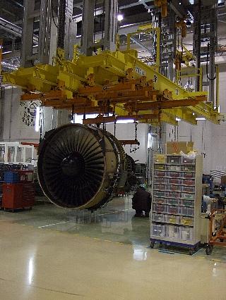 ANAエンジン整備工場見学21