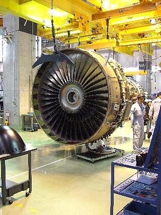 ANAエンジン整備工場見学22