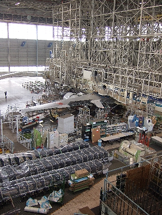 ANA機体整備工場見学05