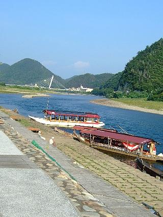 長良川と観光船01