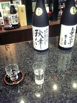 龍力の酒(ショップにて)