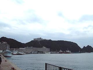 ホテル浦島遠景