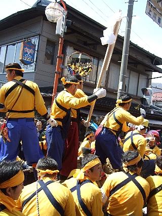 御柱祭り33