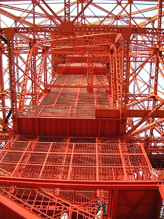 東京タワー(階段1)