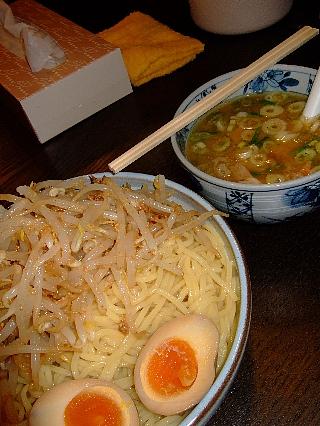 麺屋翔の特製つけ麺01
