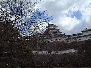 姫路城(空)