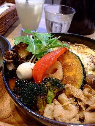 中野スープカレー豚しゃぶ01