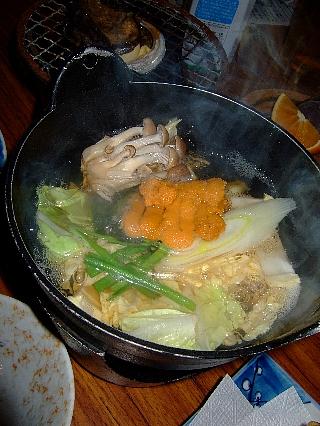 奥尻緑館夕食1日目06a