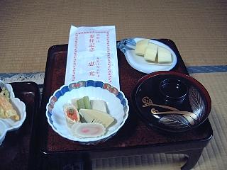 精進料理(夕食)二の膳