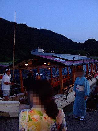 鵜飼観光船01