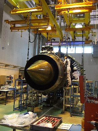ANAエンジン整備工場見学28