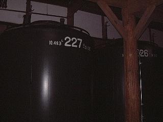 10熟成タンク
