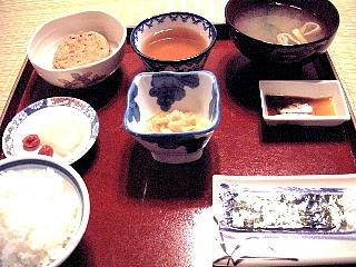 天徳院朝食